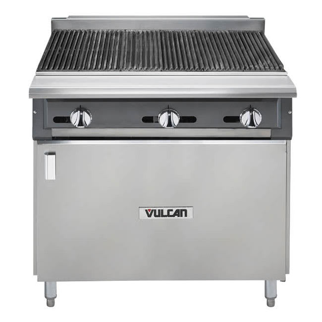 "Vulcan VCBB36 36"" Gas Modular Charbroiler w/ Cast Iron Grates, NG"