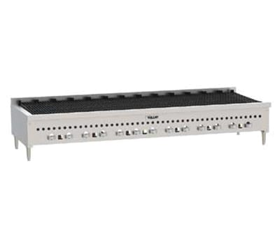 """Vulcan VCCB72 72"""" Radiant Charbroiler w/ Cast Iron Grates, LP"""
