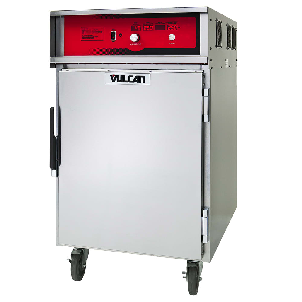 Vulcan VCH8 1/2-Height Mobile Heated Cabinet w/ (8) Pan Capacity, 240v/1ph