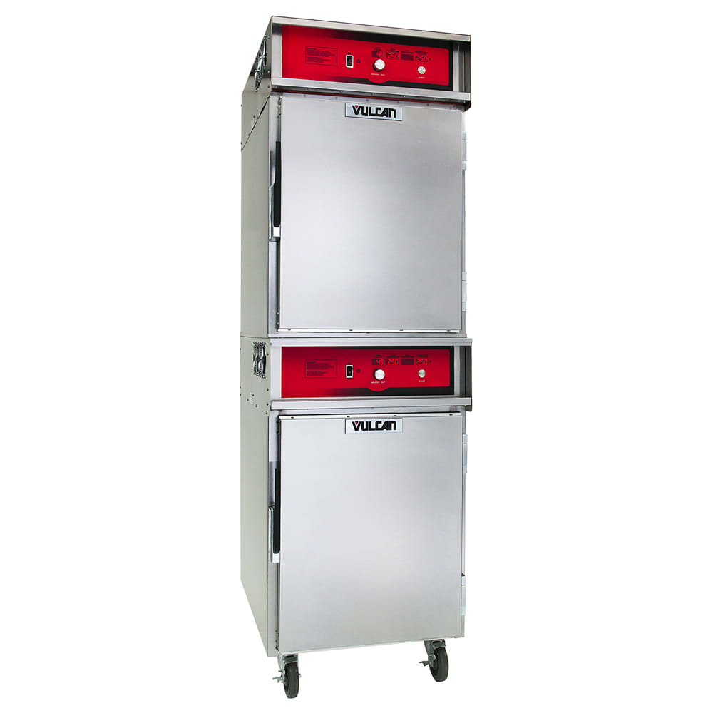 Vulcan VCH88 Full Height Insulated Mobile Heated Cabinet w/ (8) Pan Capacity, 240v/1ph