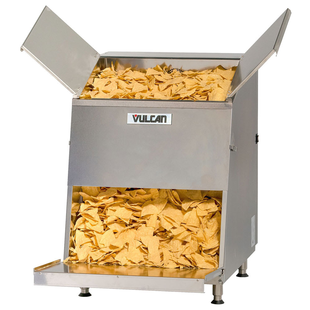 Vulcan VCW46 Top Load Chip Warmer w/ 46 Gallon Capacity, 120v