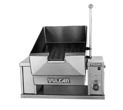 Vulcan VECTS12 Countertop Braising Pan w/ 12 Gallon Capacity, Pour Lip, 208/1 V