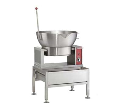 Vulcan VECTS16 Countertop Braising Pan w/ 16-Gallon Capacity, Pour Lip, 240/1 V