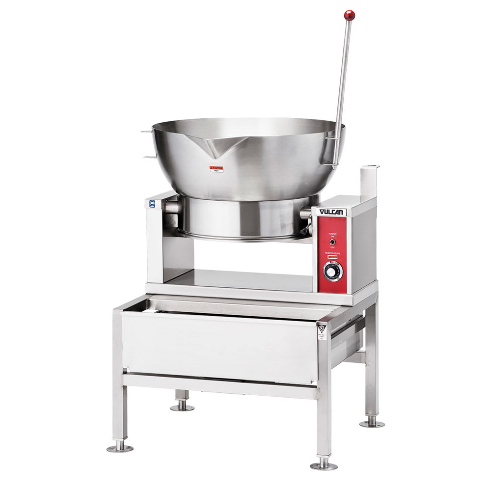 Vulcan VGCTS16 Countertop Braising Pan w/ 16-Gallon Capacity, Pour Lip, NG