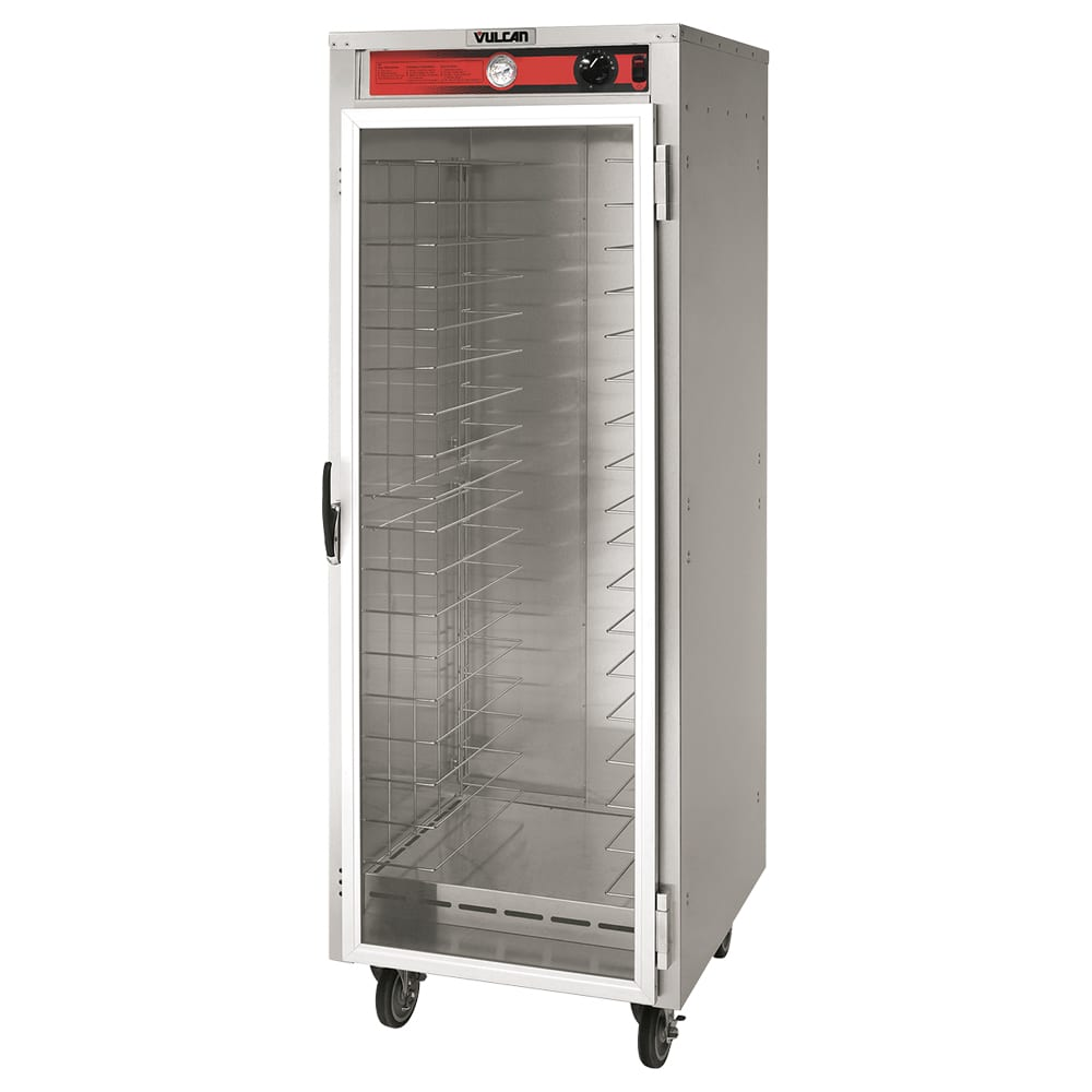 Vulcan VHFA18 Full Height Non-Insulated Mobile Heated Cabinet w/ (18) Pan Capacity, 120v
