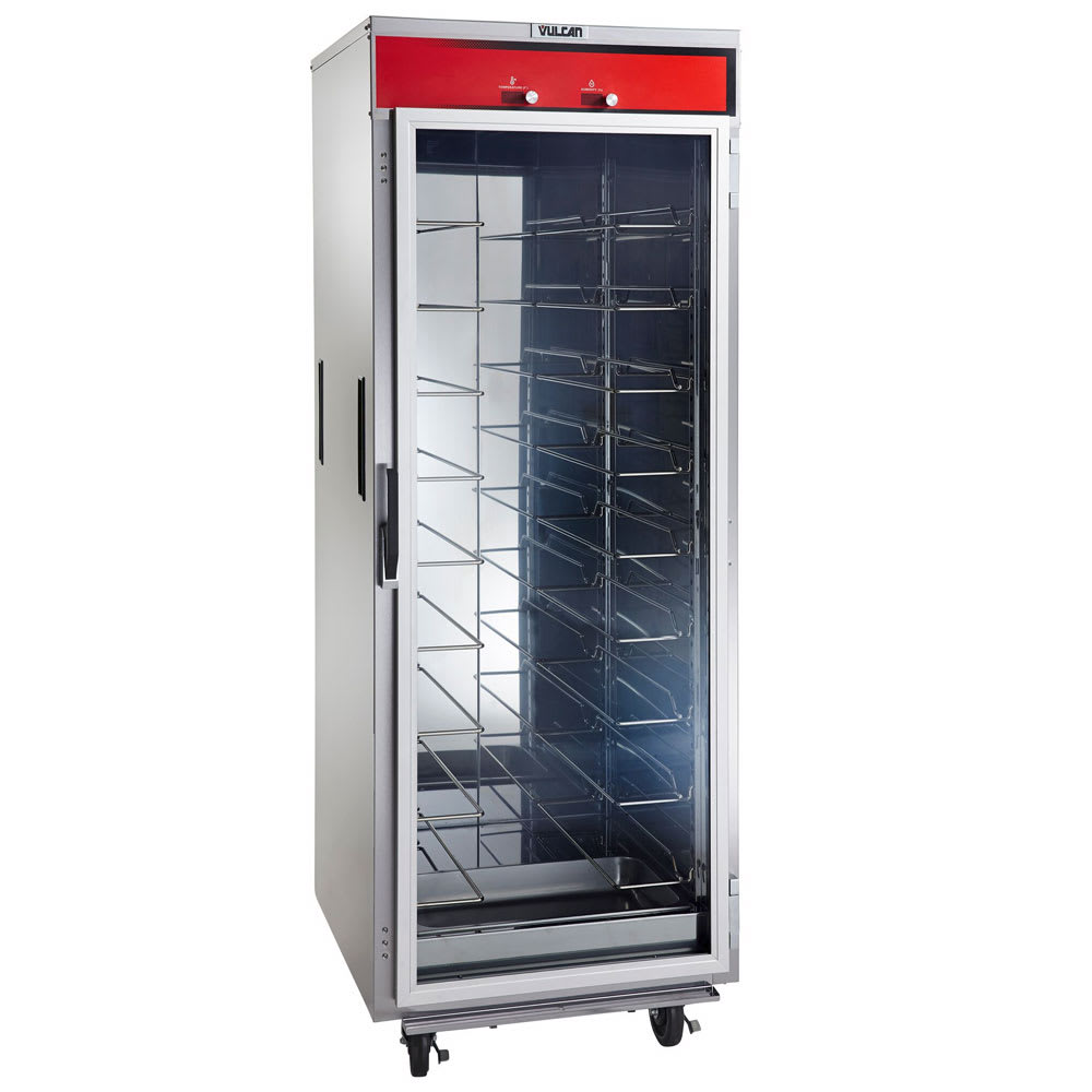 Vulcan VHU18 Full Height Mobile Heated Cabinet w/ (18) Pan Capacity, 120v