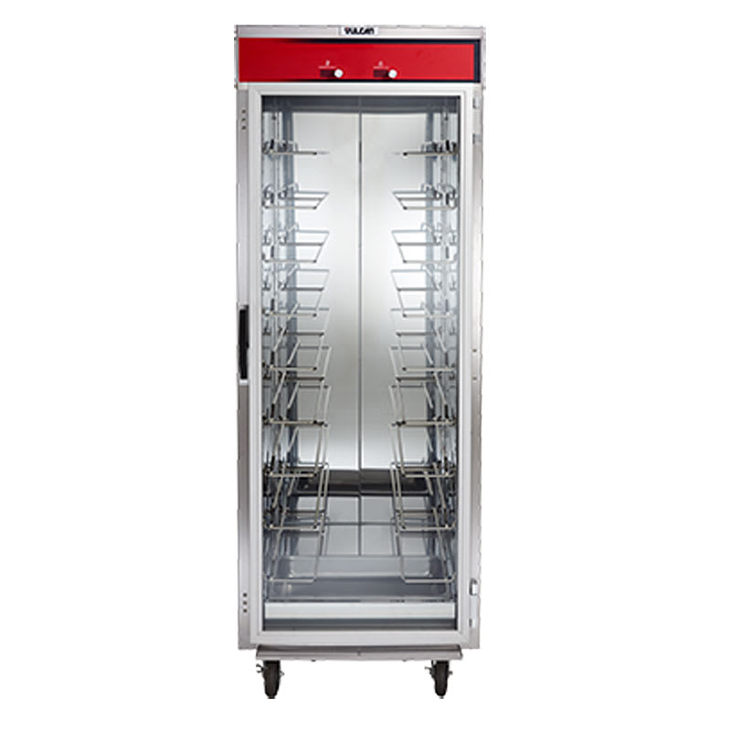 Vulcan VHU77 Full Height Insulated Mobile Heated Cabinet w/ (14) Pan Capacity, 120v
