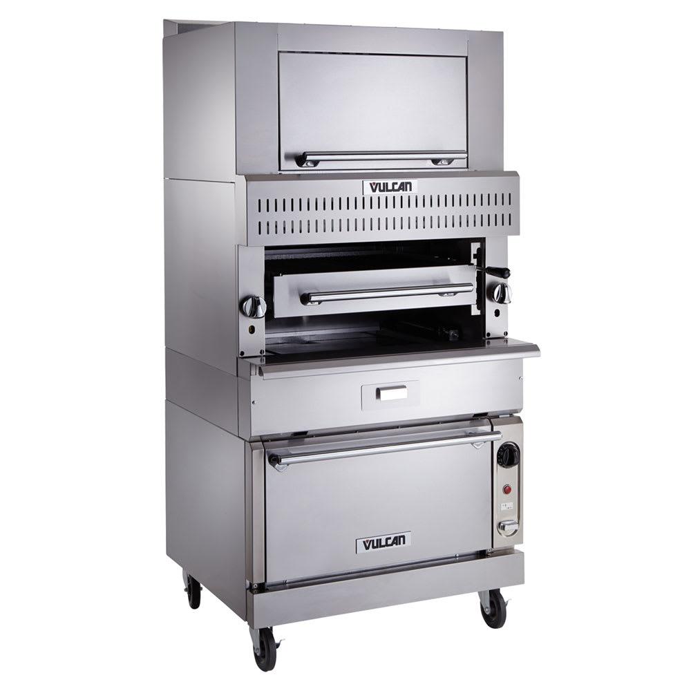 Vulcan VIR1SF Deck-Broiler w/ Infrared Burners, Standard Oven, NG