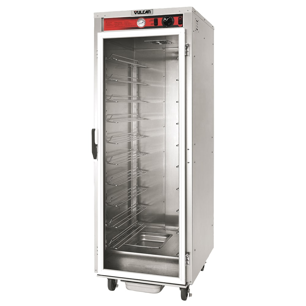 Vulcan VP18 Full Height Mobile Heated Cabinet w/ (18) Pan Capacity, 120v