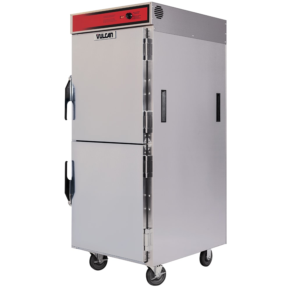 Vulcan VPT15LL Full Height Insulated Mobile Heated Cabinet w/ (30) Pan Capacity, 120v