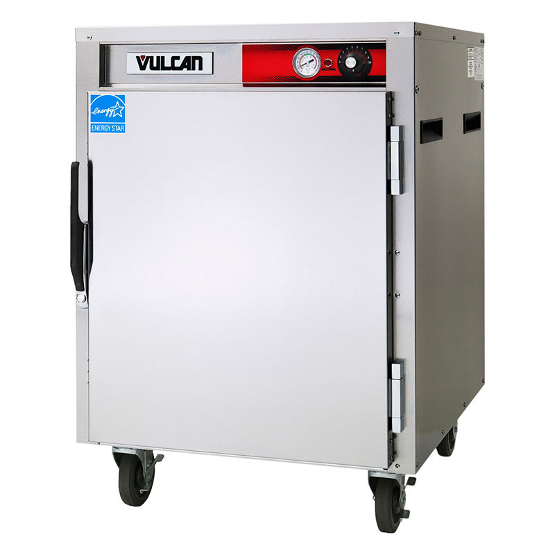 Vulcan VPT7LL 1/2 Height Insulated Mobile Heated Cabinet w/ (15) Pan Capacity, 120v