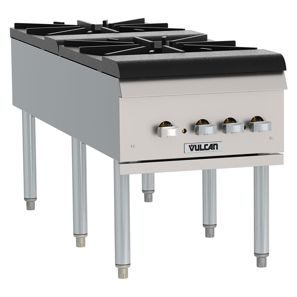 Vulcan VSP200F 2 Burner Stock Pot Range, LP