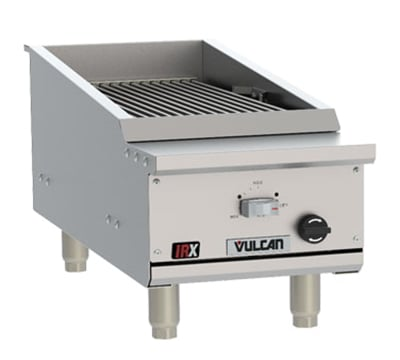 "Vulcan VTEC14 14.5"" Countertop Charbroiler w/ Conversion Burner, LP"
