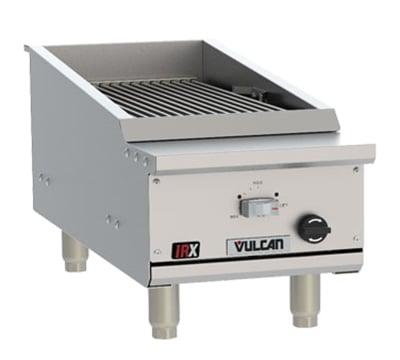 """Vulcan VTEC14 14.5"""" Countertop Charbroiler w/ Conversion Burner, NG"""
