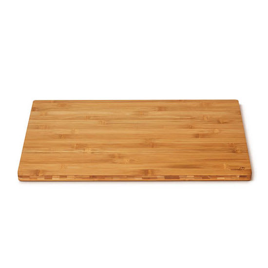 "Rosseto BP001 Rectangular Serving Board - 21.38"" x 13.56"", Bamboo, Natural Finish"