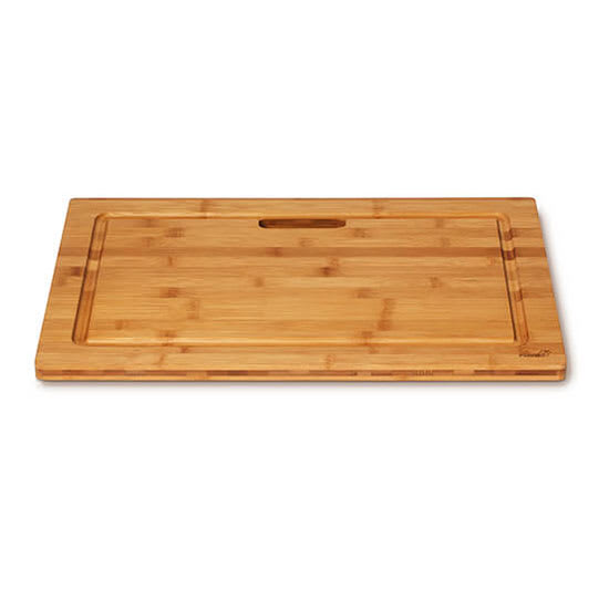 "Rosseto BP003 Rectangular Cutting Board - 21.56"" x 13.56"", Bamboo, Natural Finish"