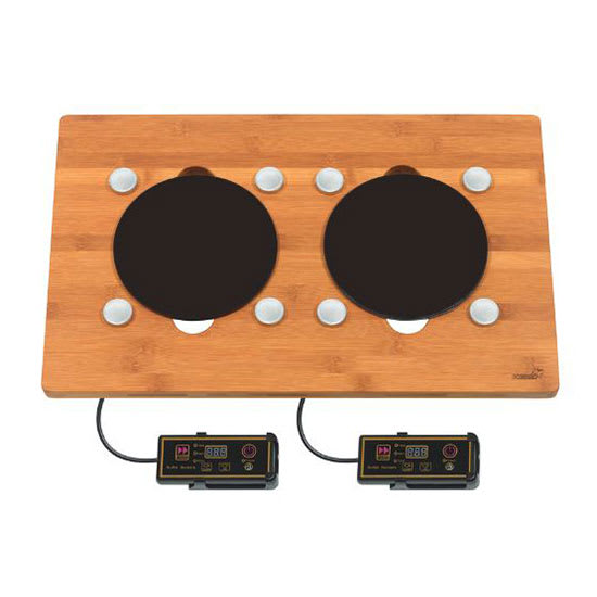 Rosseto BP009 Drop-In Commercial Induction Cooktop w/ (2) Burners, 220 240v/1ph