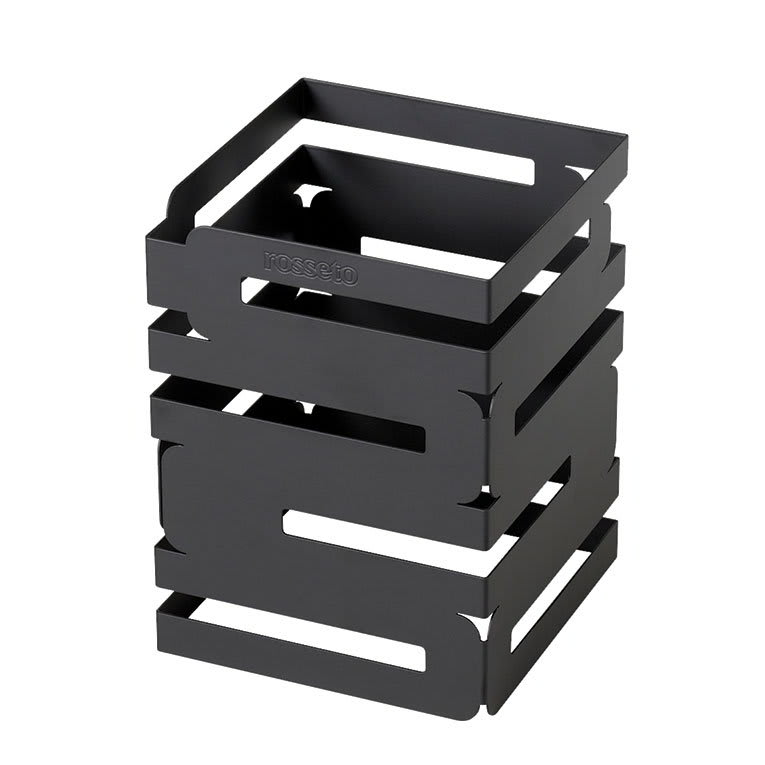 "Rosseto D623RB Multi-Level Square Display Riser - 6x6x8"" Black"