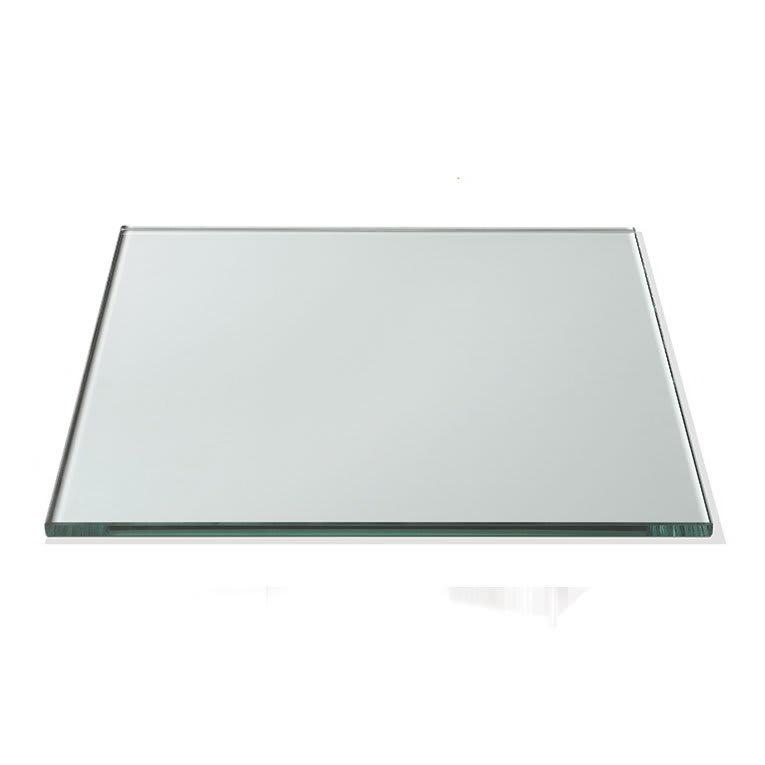 "Rosseto GTS14 14"" Glass Square Display Shelf/Tray - Clear"