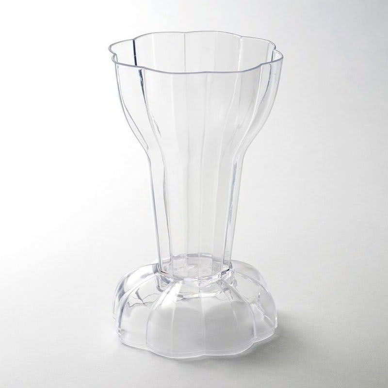 Rosseto L12400 6 oz Dolce Cup with Lid - Polystyrene, Clear