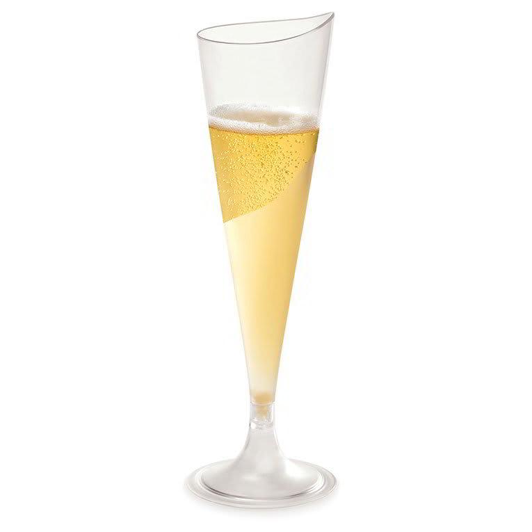 Rosseto L50300 4-oz Liteware Champagne Flute - Polystyrene, Clear