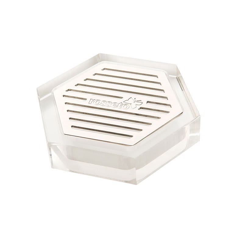Rosseto LD107 Acrylic Drip Tray with Stainless Steel Insert