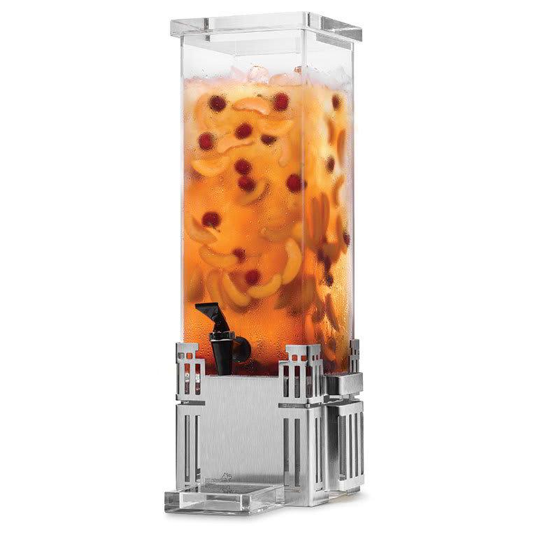 Rosseto LD113 2-gal Rectangular Beverage Dispenser - Stainless Base