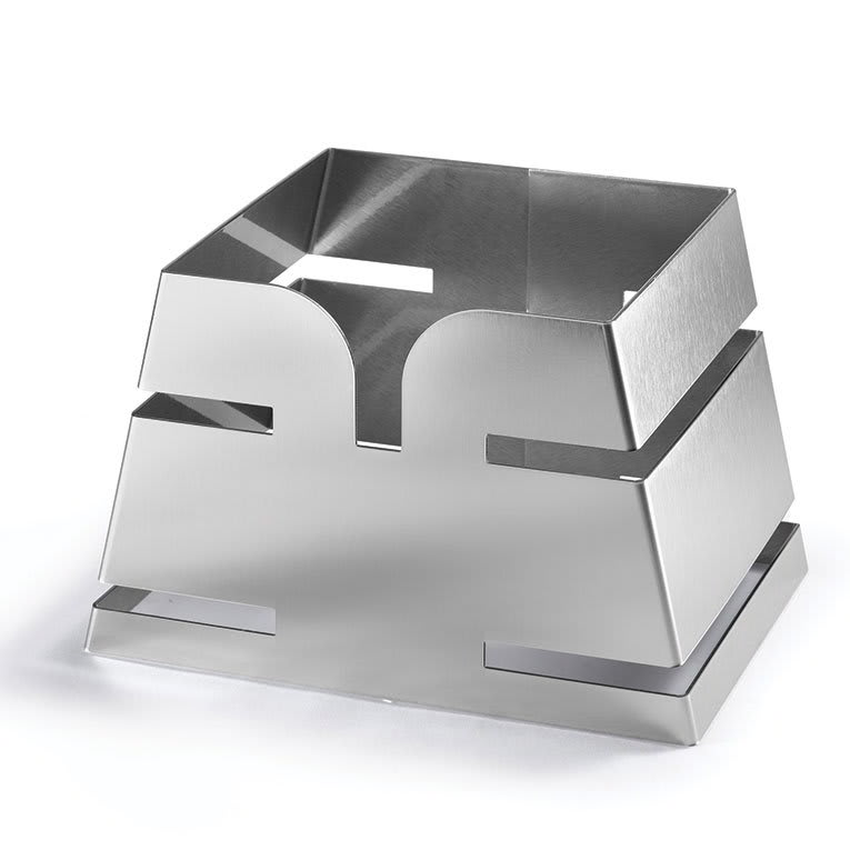 "Rosseto LD135 Pyramid Riser - 11.65x8.3x7.5"", Stainless"