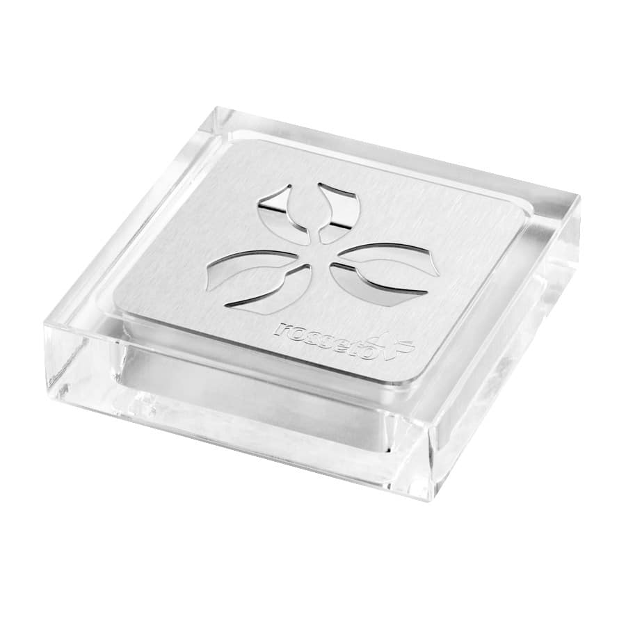 "Rosseto LD158 4.25"" Square Drip Tray for Iris™ Beverage Dispensers"