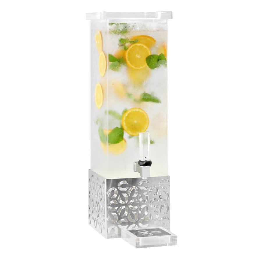 Rosseto LD160 1 gal Beverage Dispenser, Stainless Base