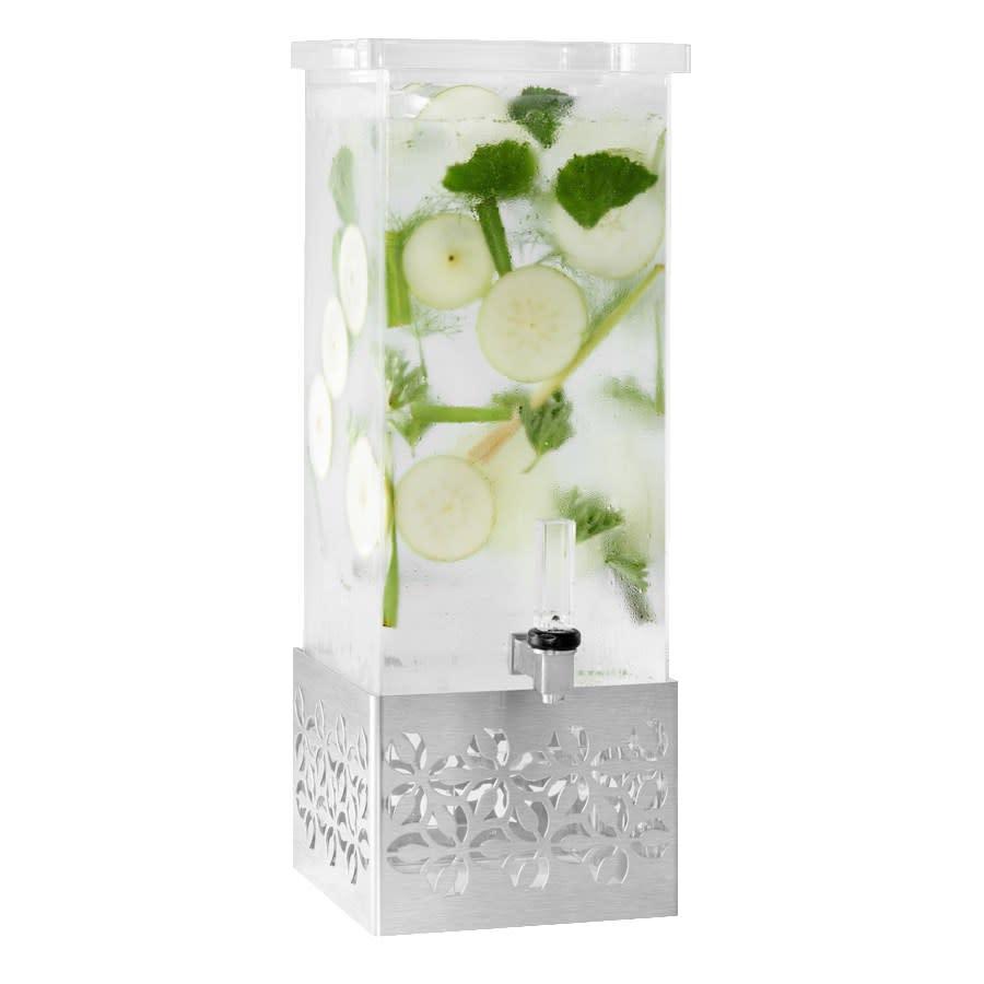 Rosseto LD162 3 gal Beverage Dispenser, Stainless Base