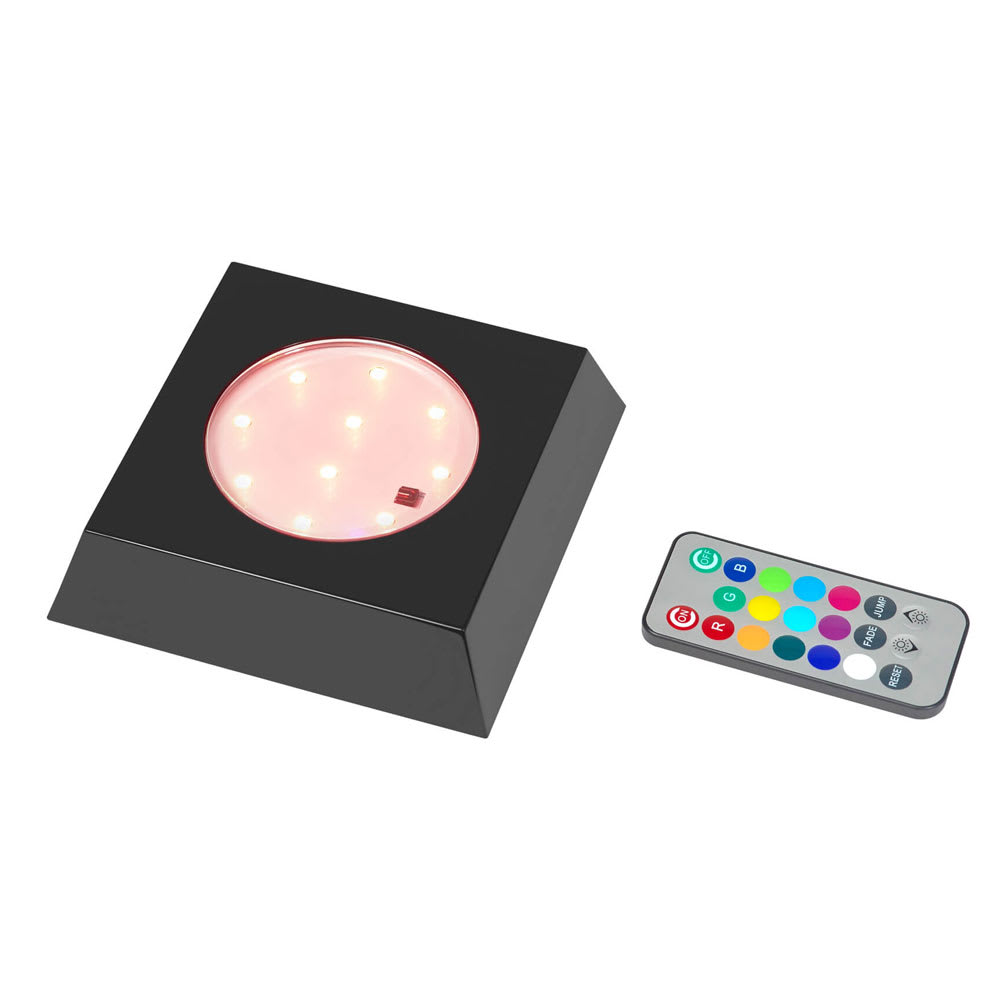 "Rosseto LED101 5.13"" Square Display Light w/ Remote"
