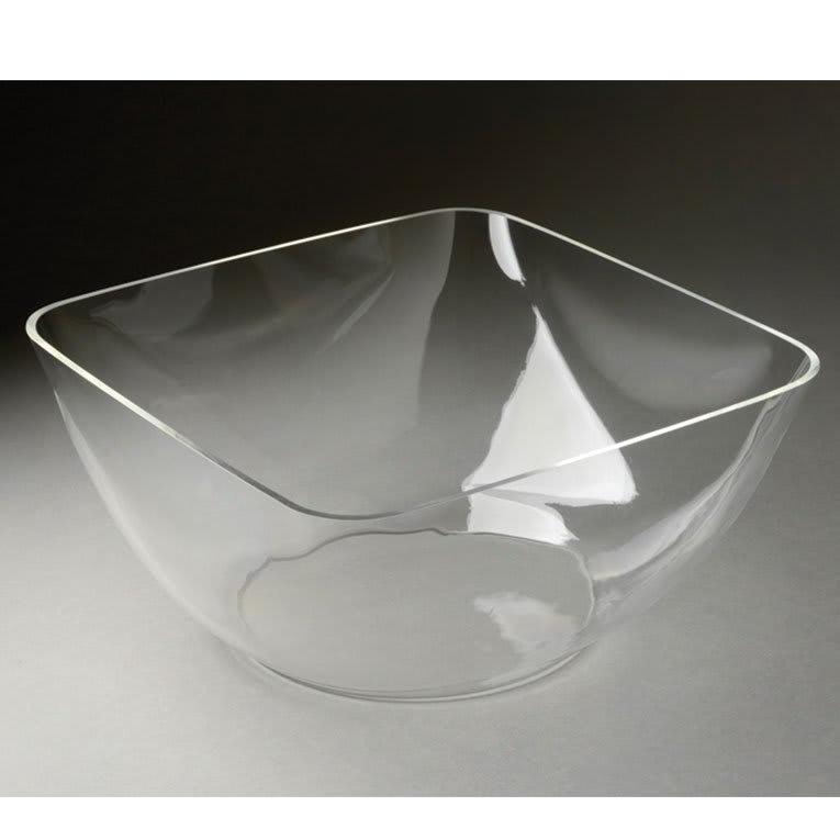 "Rosseto LIB1418 12-1/2"" Square Ice Bowl Tray - Acrylic, Clear"
