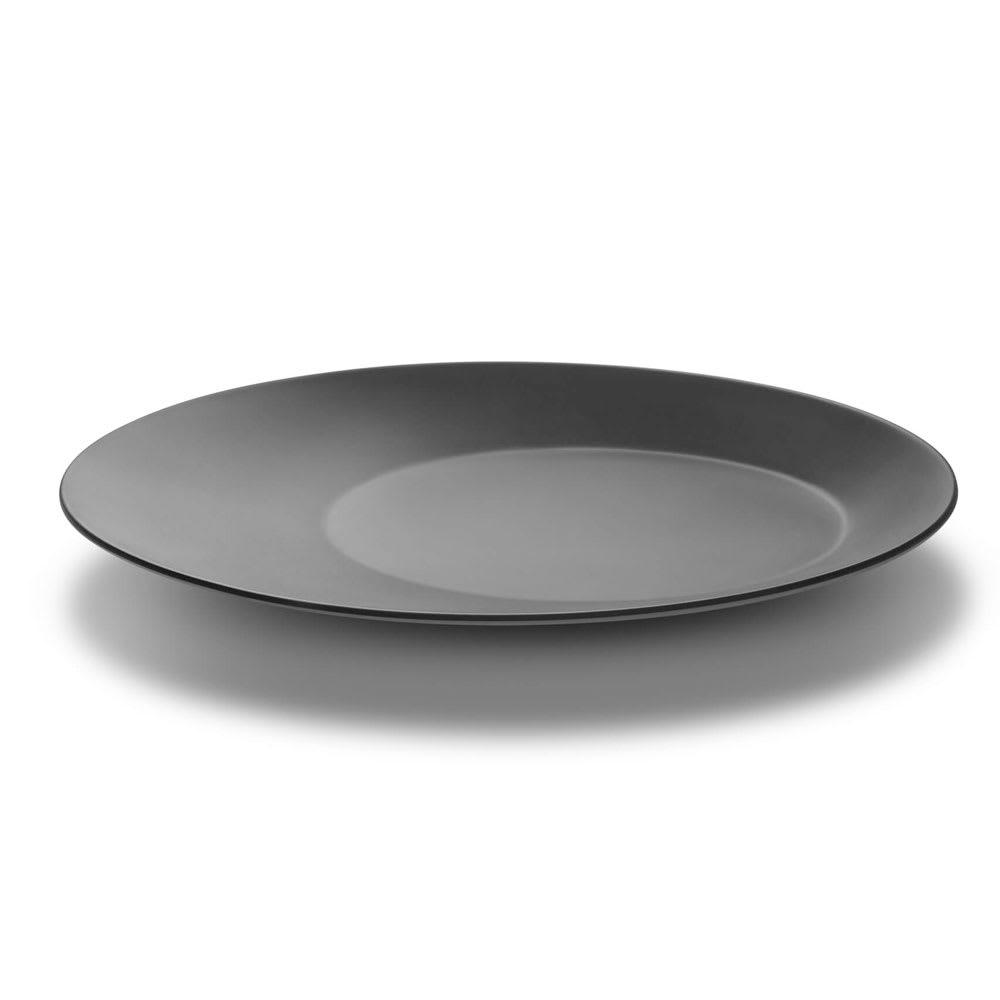 """Rosseto MEL009 13"""" Round Platter - Melamine, Black & White"""