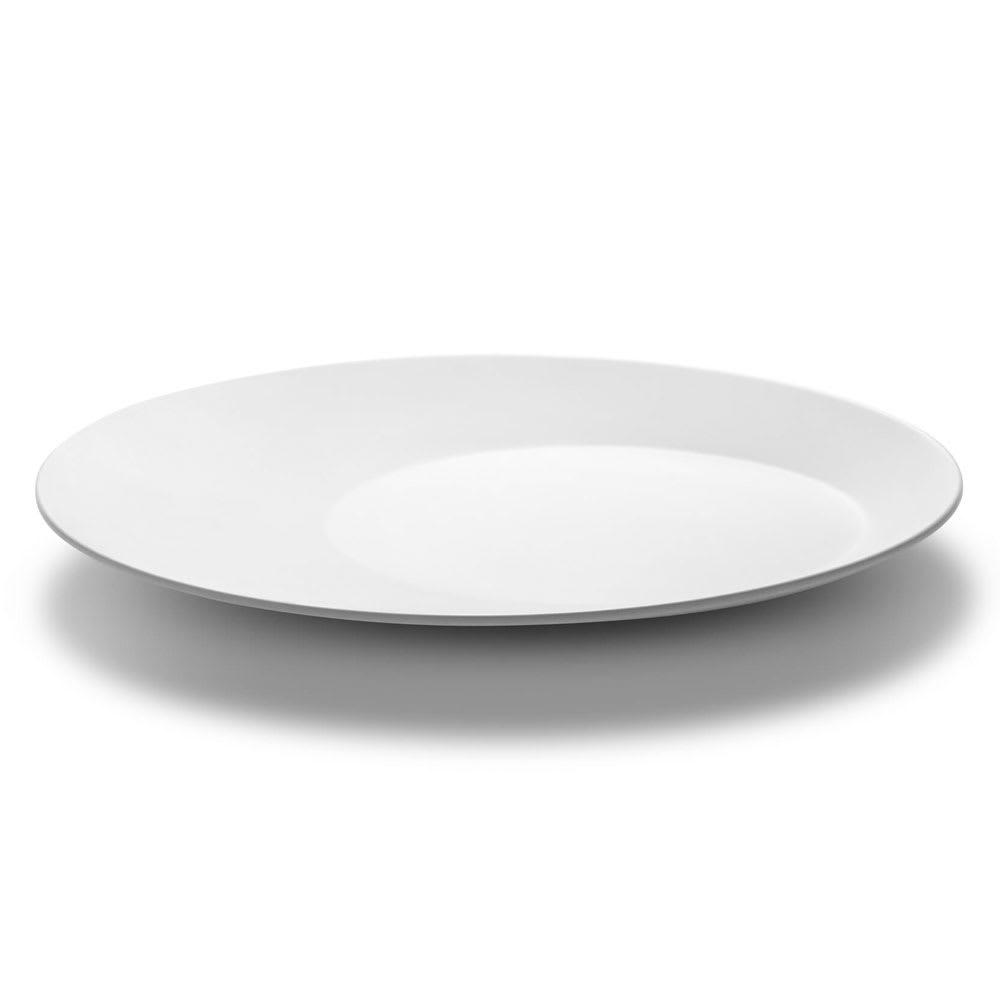 """Rosseto MEL017 13"""" Round Platter - Melamine, White"""