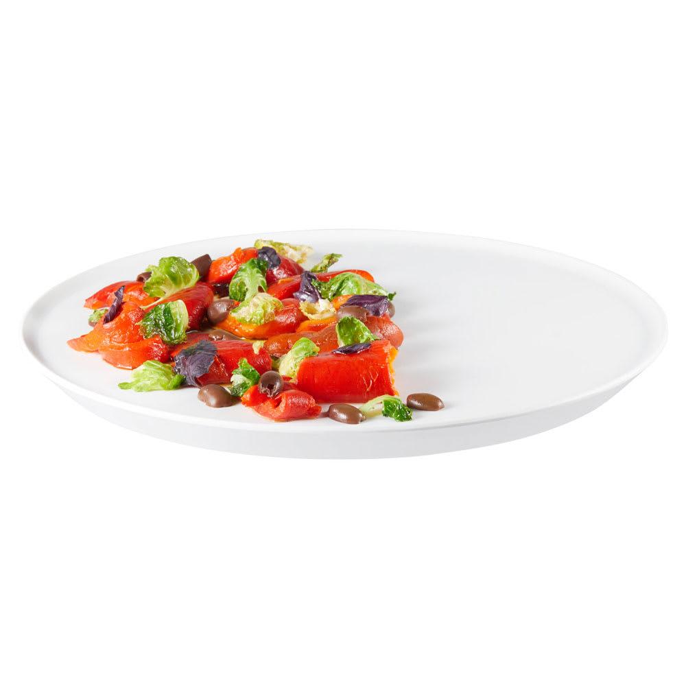 """Rosseto MEL023 13.31"""" Round Serving Tray - Melamine, White"""