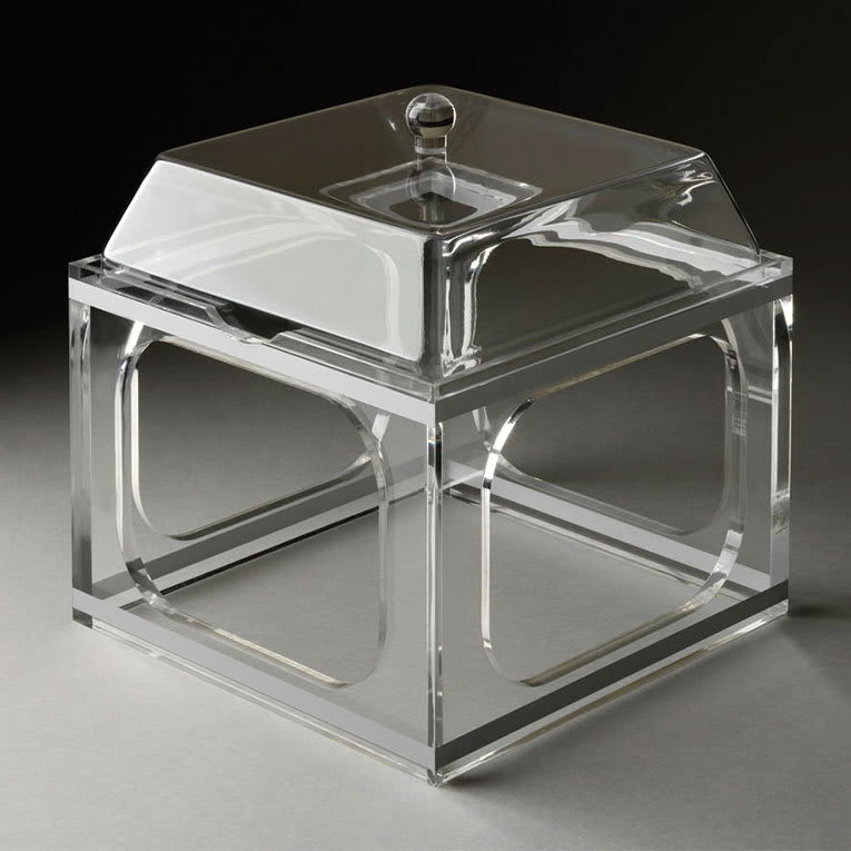 Rosseto MMP1425 Medium Mod Pod Container with Riser - Acrylic, Clear