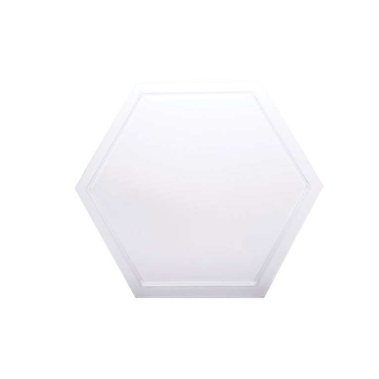 "Rosseto SA104 16-1/4"" Honeycomb Platter/Tray - Frosted Acrylic"