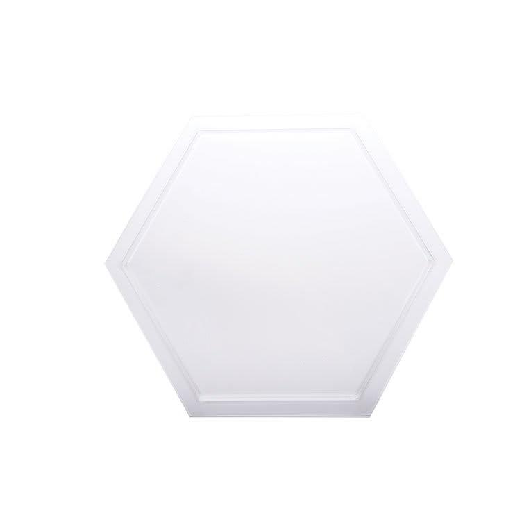 "Rosseto SA105 18 1/4"" Honeycomb Platter/Tray - Frosted Acrylic"
