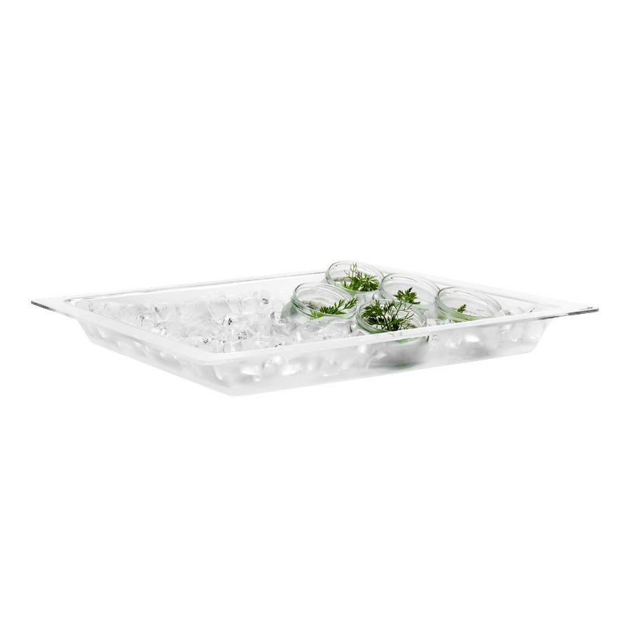 "Rosseto SA117 20"" Square Ice Display Insert for BD132, Acrylic"