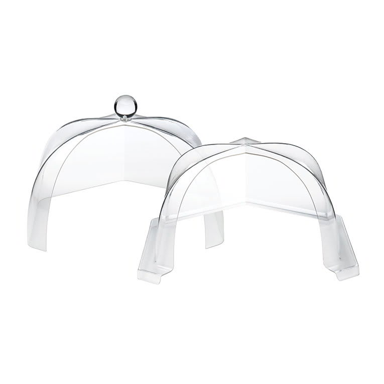 "Rosseto SA120 16"" Honeycomb Dome Cover - Reach-In, Clear Acrylic"