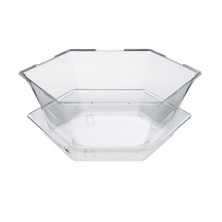 Rosseto SA121 8 qt Honeycomb Ice Tub - Catch Tray, Clear Acrylic
