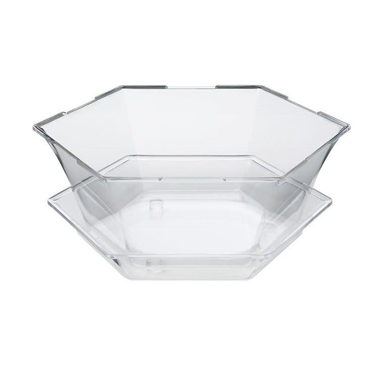 Rosseto SA121 8-qt Honeycomb Ice Tub - Catch Tray, Clear Acrylic