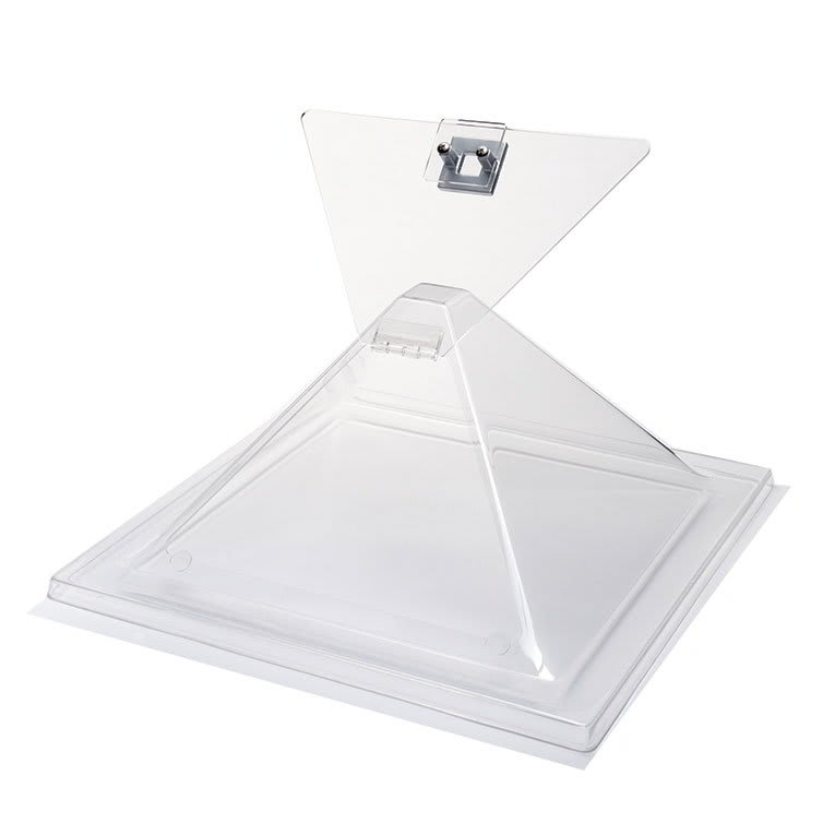 "Rosseto SA123 Pyramid Display Cover, 14"" x 15"" x 8"", Acrylic, Clear"