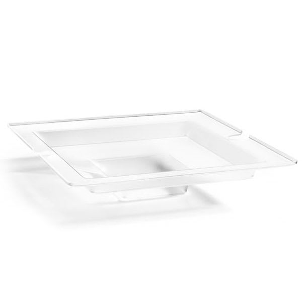 Rosseto SA125 Ice Pan for SM220, SM240, & SM221 Swan® Risers - Acrylic, Frosted