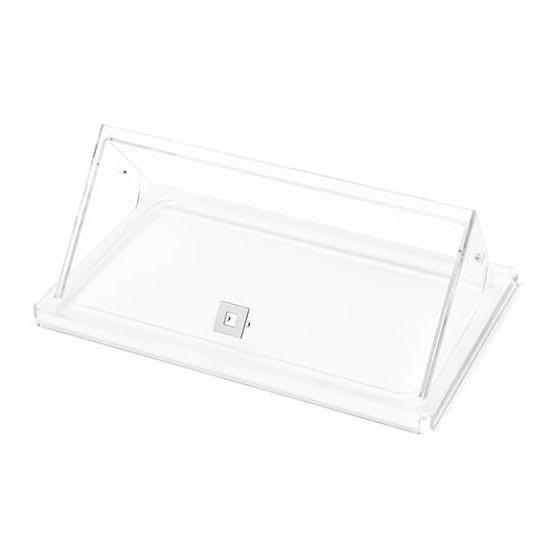 "Rosseto SA127 Lid for 10"", 7"", & 5"" Multi Chef™ Bases - Plexiglass, Clear"