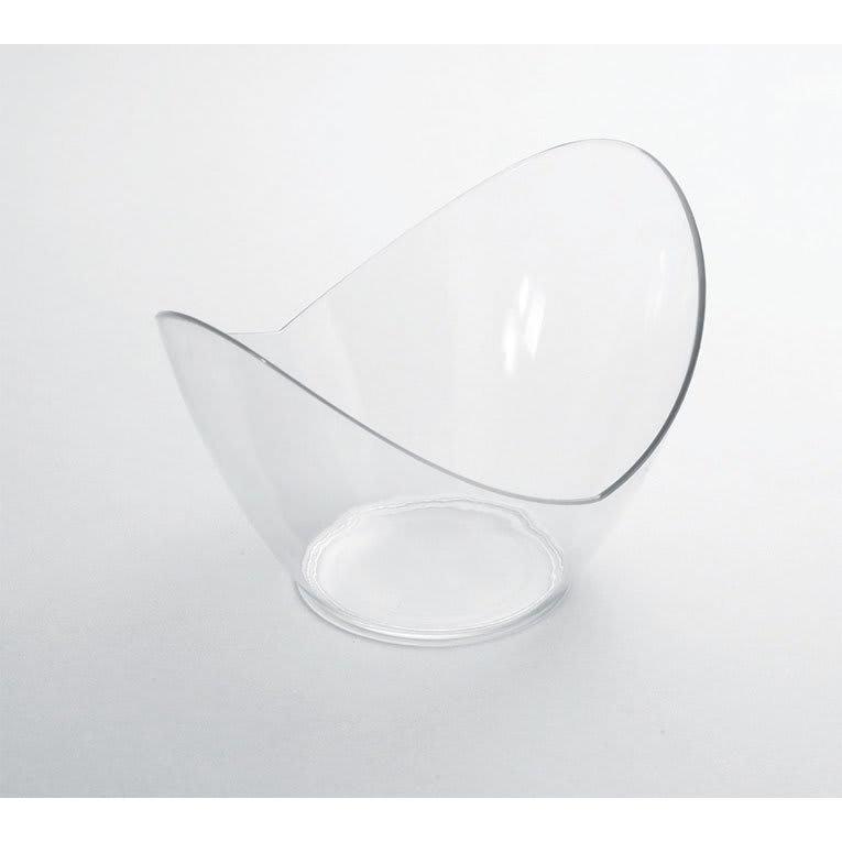 Rosseto SC1972 3-oz Simply Disposable Mini Dish - Clear