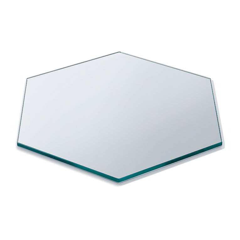 "Rosseto SG006 21"" Honeycomb Display Platter - Tempered Glass"