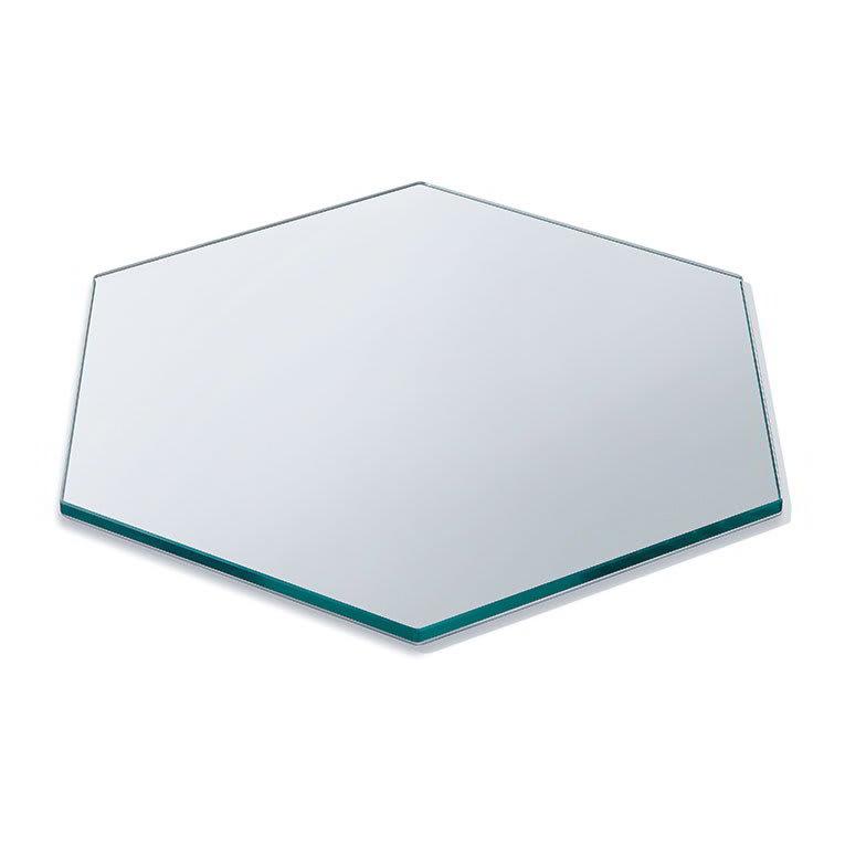 "Rosseto SG008 16"" Honeycomb Display Platter - Tempered Glass"