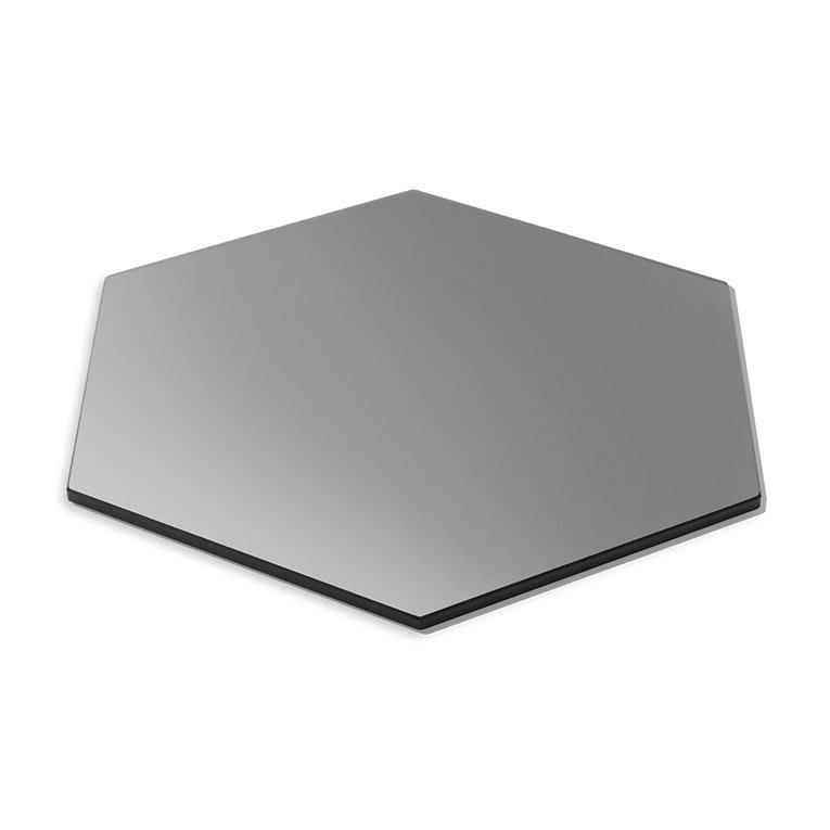 "Rosseto SG011 19"" Honeycomb Display Platter - Tempered Glass, Black"